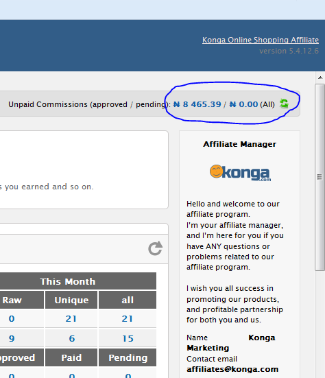 How to make money online with Konga Affiliate marketing