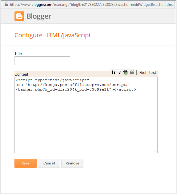 blogger dashboard 1