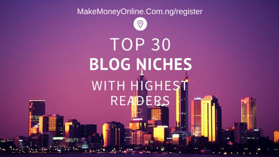 Blog Niche
