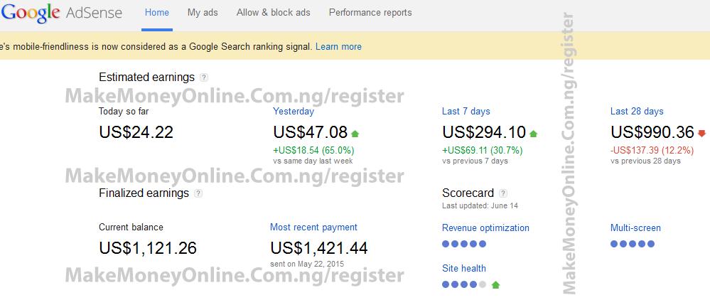 xBest 25 Ways on How to Make Money Online in Nigeria 2015