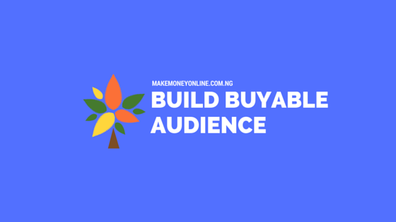 BUILD BUYABLE AUDIENCE