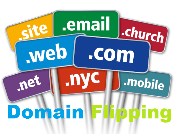 Domain flipping business make money with buying and for House flipping business names