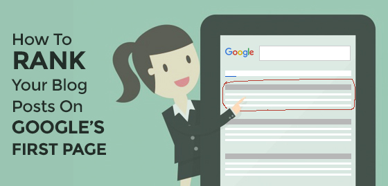16 Tips to Rank your Blog in Google's first page